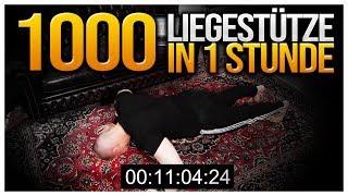 MOIS macht die 1000 LIEGESTÜTZE in 1 STUNDE Challenge