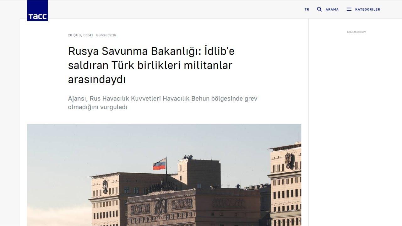 33 İdlib Şehidimiz Rus Basınında(Son Dakika)