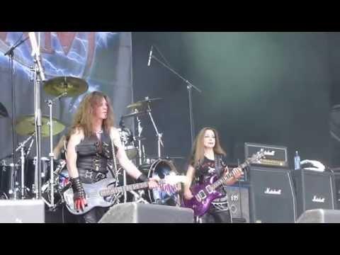 MADAM X  High In High School Sweden Rock Festival 2014