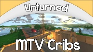 Mtv Cribs!! - Unturned Edition | Huge Airport Base Ep. #4