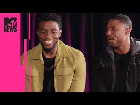 'Black Panther's' Michael B. Jordan & Chadwick Boseman on Cultural Impact & Identity | MTV News