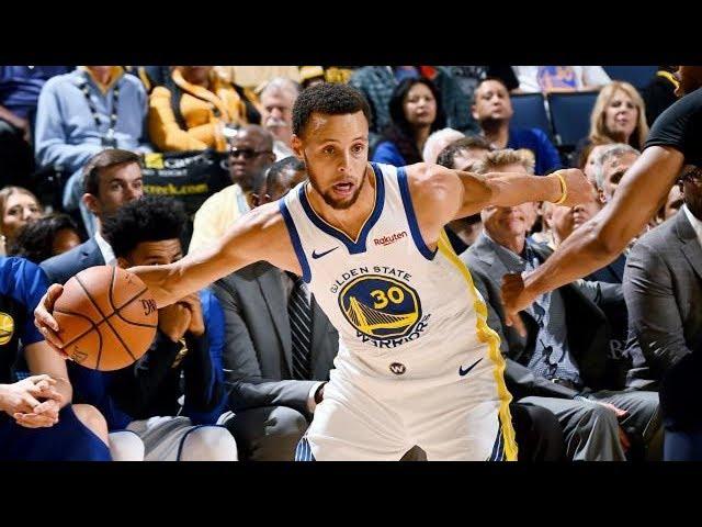 Curry 5 Threes! Durant Put Back Dunk! Timberwolves vs Warriors Preseason 2018