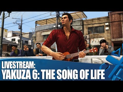 Yakuza 6: The Song of Life - Cat cafes, Mascot adventures, Karaoke and more!