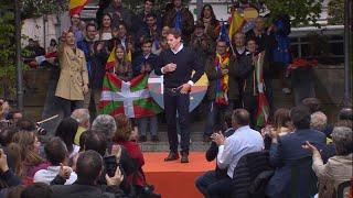 """Rivera ante abucheos: """"Euskadi no es vuestro, es de todos"""""""