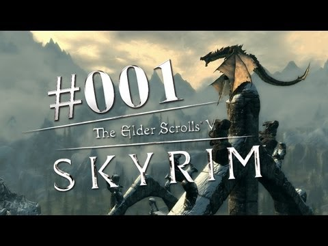 Let's Play Skyrim #001 (Blind - Deutsch - HD) Die falsche Seite?