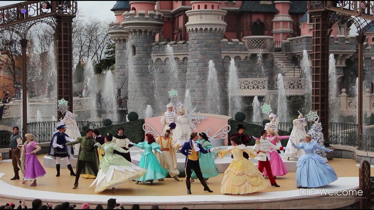 Royal Christmas Wishes - Disneyland Paris - YouTube