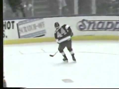 ESPN National Hockey Night highlights October 27, 1992 LA Kings @ New York Islanders part 1