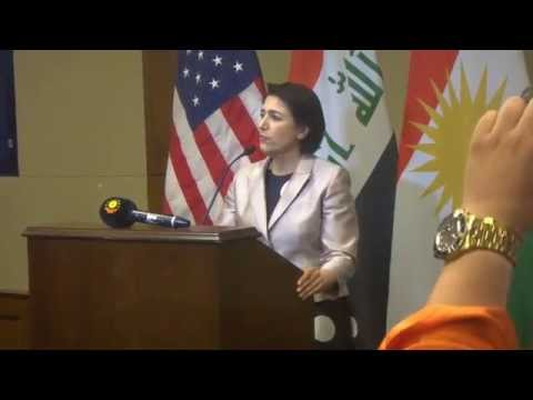 Kurdistan Tour Guide Book Launch in the US Congress