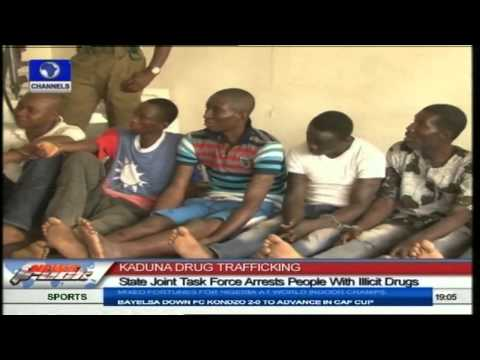Kaduna State Joint Task Force Arrests People With Illicit Drugs