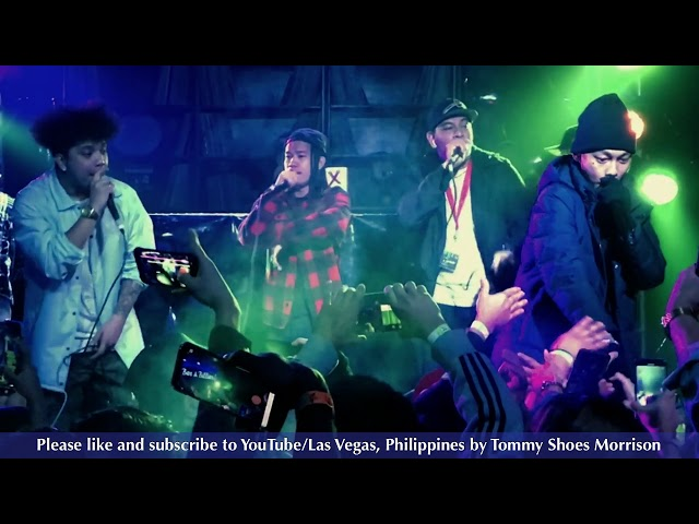 Ex Battalion ft. Skusta Clee - Dami Mong Alam (The Triple Threat Live in Las Vegas)