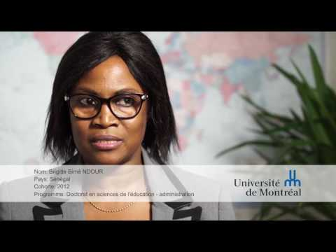Video d'information sur l'Université de Montréal