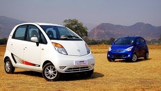 Comparison: Tata Nano v/s Hyundai Eon