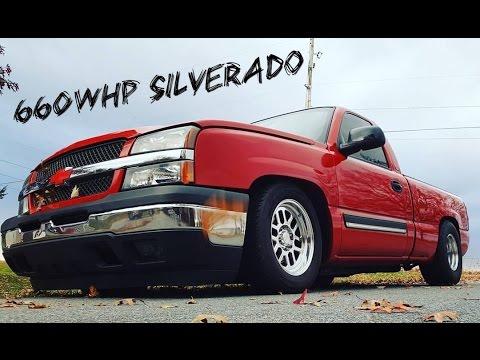 660whp 6 0L LS Turbo Silverado   K P  Tuning  