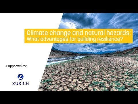 Climate change and natural hazards: What advantages for building resilience?