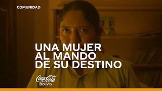 Conocemos a Claudia, la primera chofer de Coca-Cola Bolivia