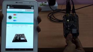 Bluetooth Demo with Accelerometer on Freescale FRDM KL25Z Board