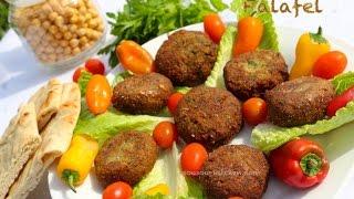 Recette Ramadan:Falafel (croquettes de pois chiches)فلافل//Falafel recipe