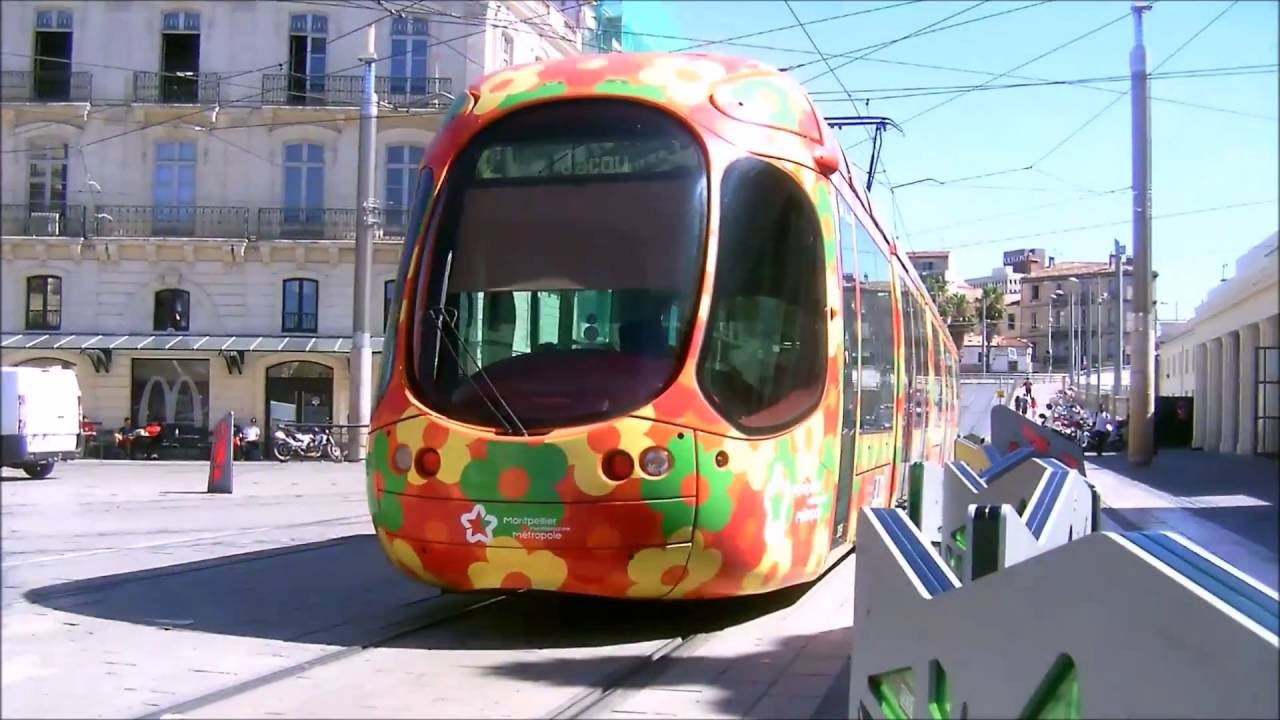 bus et tram du r seau tam montpellier youtube. Black Bedroom Furniture Sets. Home Design Ideas