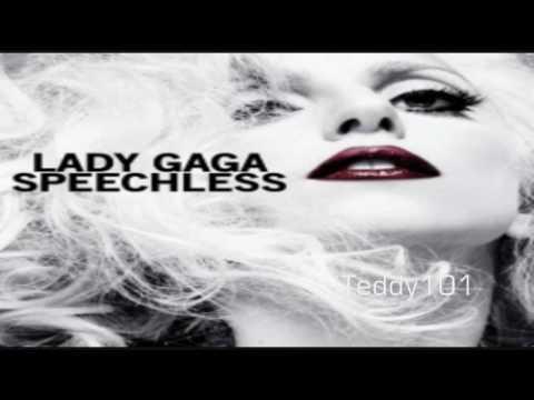 Lady Gaga - Speechless [MP3/Download Link] + Full Lyrics