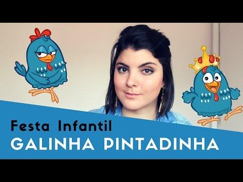 Festa da Galinha Pintadinha - Decoração Festa Infantil