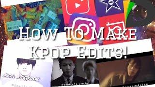 How To Make Kpop Edits ❤️ | Squishy Jimin