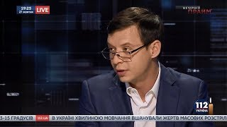 Евгений Мураев в «Вечернем Прайме» на телеканале «112 Украина», 27.10.17