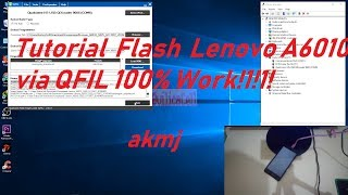 Flashing Lenovo A6010 via QFIL 100% Work