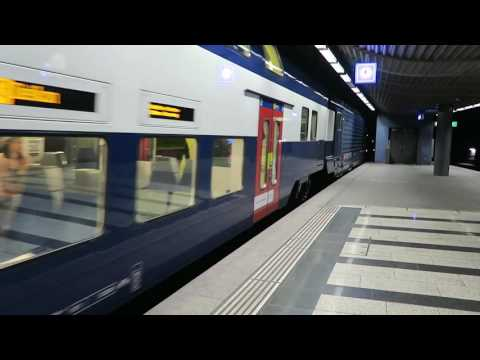 S Bahn Trains At Zurich HB 24 May 2016
