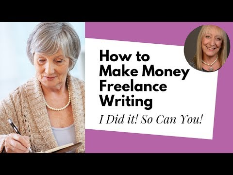 How to Make Money Writing Online as a Freelance Writer | Ben Gran | Sixty and Me Show