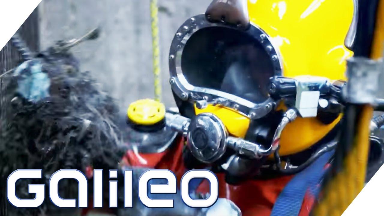 Der Kanaltaucher von Mexico City | Galileo | ProSieben