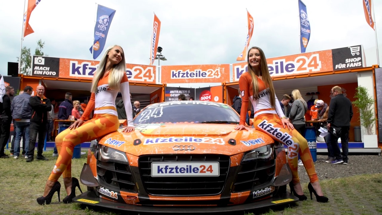 kfzteile24 grid girls der adac gt masters youtube. Black Bedroom Furniture Sets. Home Design Ideas