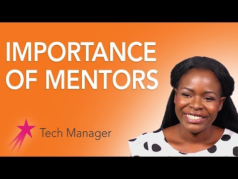 Tech Manager: Importance of Mentors - Elizabeth Kalitsiro Career Girls Role Model