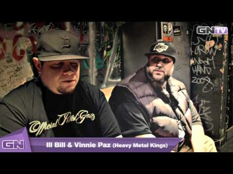 Ill Bill & Vinnie Paz (Heavy metal kings) interview 2011 by The Guestlist Network (HD)