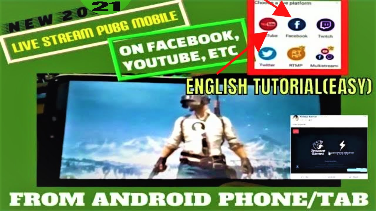 How To Stream PUBG Mobile Live From Your Android Phone To Facebook/YouTube  ETC [2019 TUTORIAL]