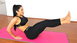 Fitness Girl's 10 Min Firm Abs Challenge - Most Men Can't Do IT!