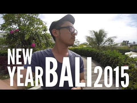 Bali - New Year 2015 with GoPro 4 Silver HD