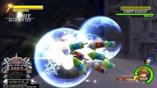 KH2FM HD (JP) (LV1) Speed Run - Saix (All Worlds)