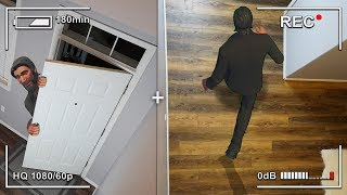 When John Wick Breaks Into My House... (Fortnite In Real Life) | David Vlas