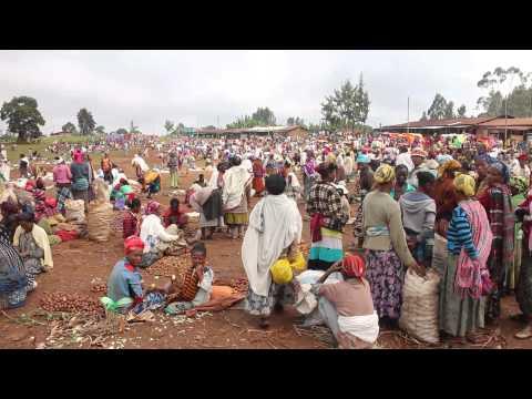 Dorze Market, Southern Ethiopia