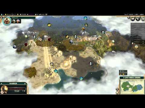 Wynn in Civilization 5 Zulu Campaign (2): Scouting Party!