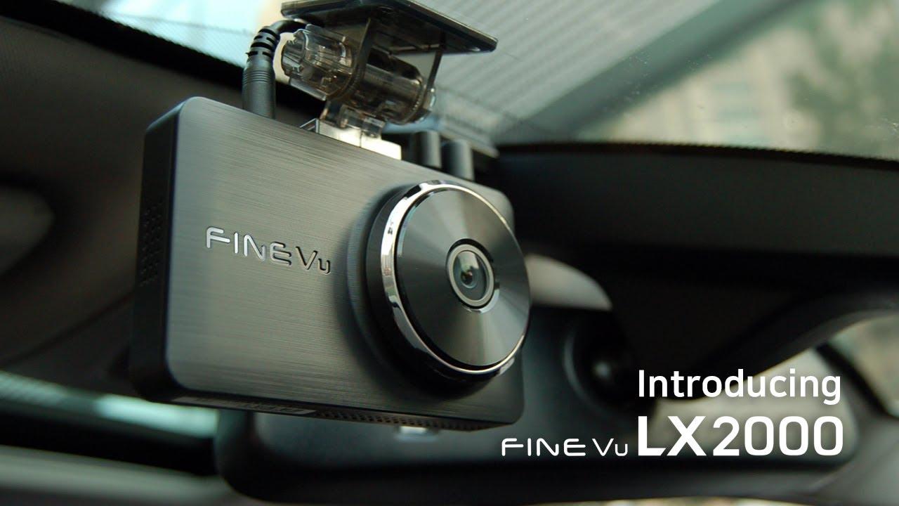 Introducing Dash Cam FineVu LX2000