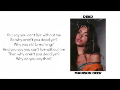 Dead - Madison Beer Lyrics