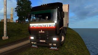 Euro Truck Simulator 2 Тяжелые дороги севера.