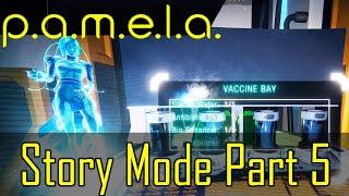 P.A.M.E.L.A. Gameplay Story Mode Pt 5 (Gene Lab Items)