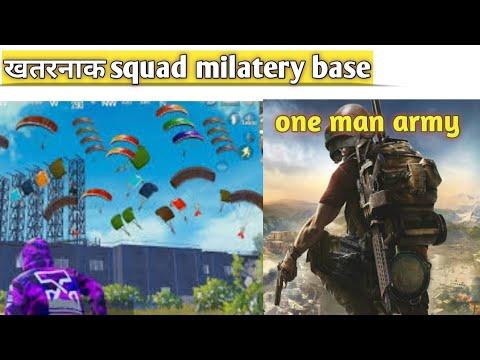 😏Best Landing In Military Base Pubg Mobile
