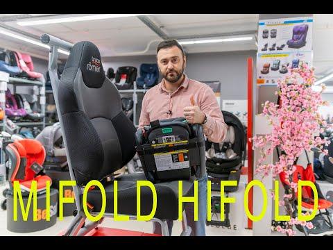 Инновационное складное автокресло Hifold Fit-and-fold