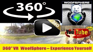 360 Videos | VR | Virtual Reality | WooFSphere | Husky Dog Mushing Part 6
