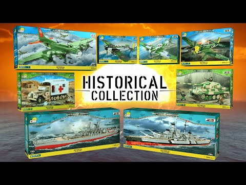 The Best Of 💥COBI💥 - Historical Collection: WW2, World Of Tanks, World Of Warships