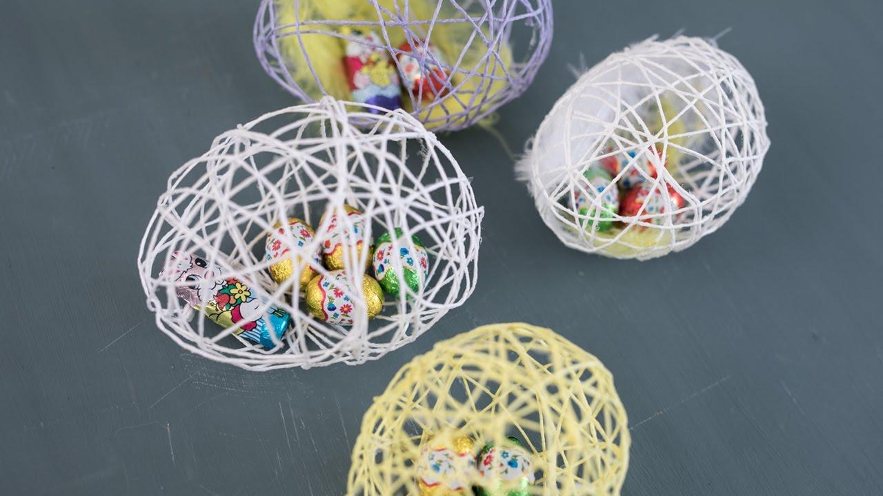 Diy Easter Egg From Yarn