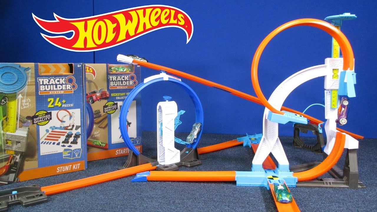 There are no limits to the tracks they can create with hot wheels® track builder ™, and now the system is building-brick compatible!. The hot wheels® track builder™ stunt bridge features a motorized bridge with 3 configurations to test their creativity and perseverance. Use timing and skill to launch the car just right and.